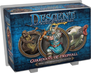 Descent : Journeys in the Dark (Second Edition) - Hero Pack - Guardians of Deephall